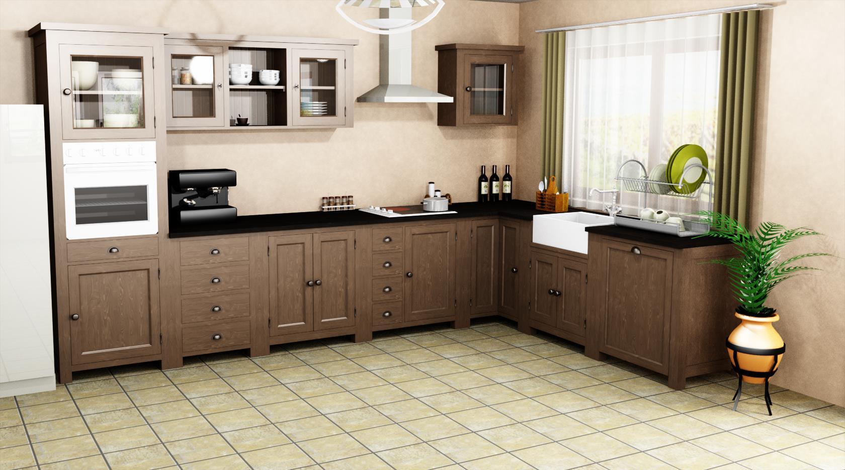 Meuble de cuisine avec evier int gr le d p t des docks - Meuble cuisine evier ...