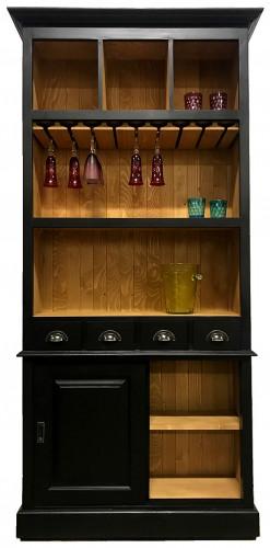 Fond de bar avec porte-verres - 103x36x210 cm