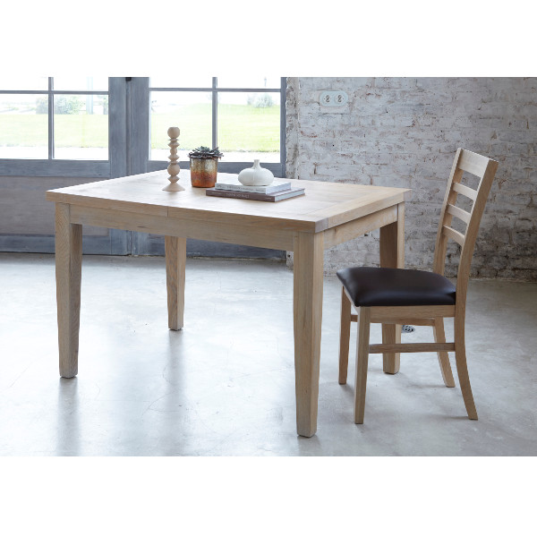 Table 125 Massif Rectangulaire Contemporaine Extensible Milano Chêne Yybf7g6