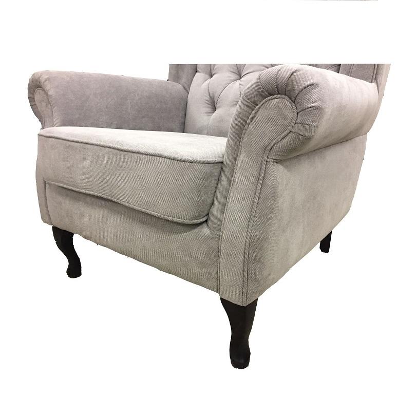 fauteuil anfield de type berg re oreilles capitonn. Black Bedroom Furniture Sets. Home Design Ideas