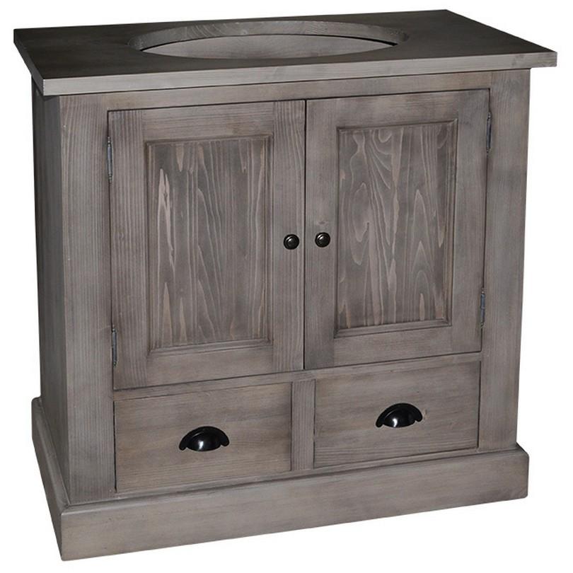 meuble de salle de bain avec une vasque le d p t des docks. Black Bedroom Furniture Sets. Home Design Ideas