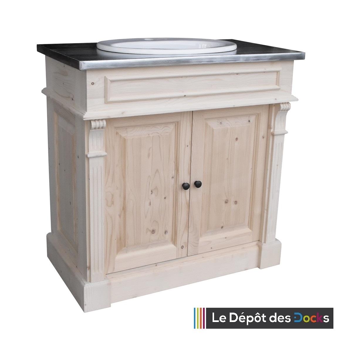 Meuble De Salle De Bains De Style Louis Xvi 1 Vasque Le D P T