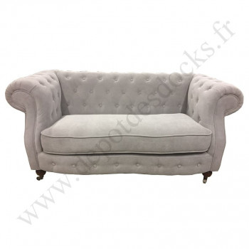 Canapé chesterfield WEMBLEY 2 places