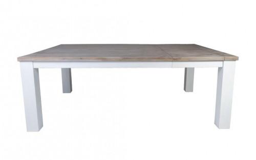 Table de Repas extensible VERONE 200/250 x 100 cm en acacia massif