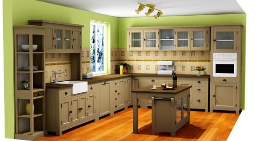 Projet 3D - Cuisine complète