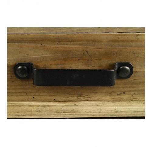 Table Basse vintage industrielle métal & Vieux Bois