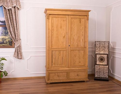 Armoire 2 portes 2 tiroirs ROMANE