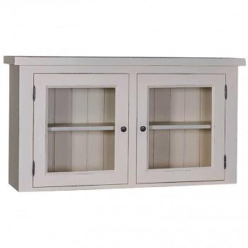 Module haut de cuisine - 2 portes vitrées