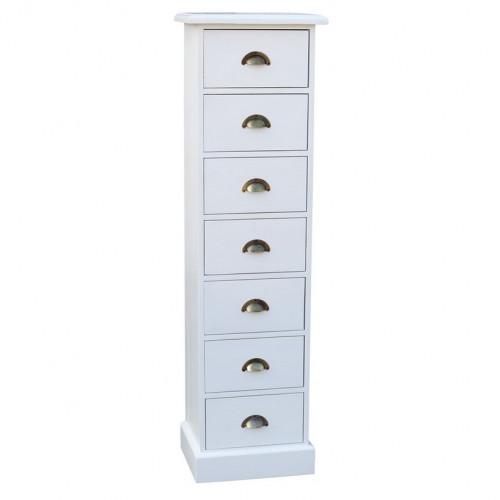 Colonne 7 tiroirs ou semainier ROMANE
