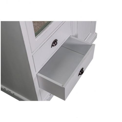 Armoire 2 portes et 3 tiroirs ROMANE