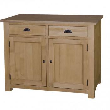 Meuble bas de cuisine 2 portes et 2 tiroirs