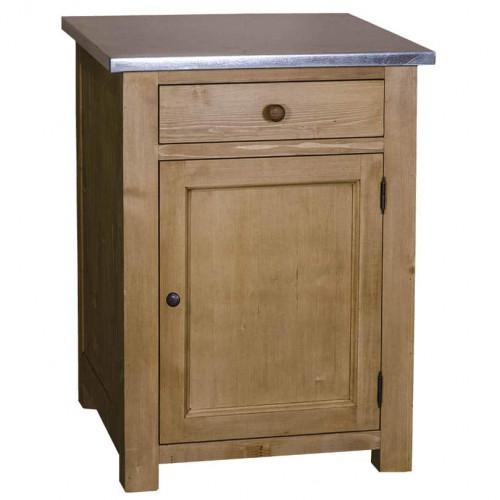 Meuble de cuisine avec 1 porte et 1 tiroir