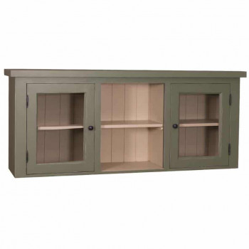 Meuble haut de cuisine - 2 portes et 1 étagère