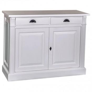 Buffet bas 2 portes & 2 tiroirs ROMANE