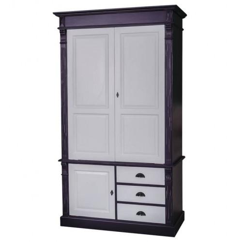 Armoire 3 portes et 3 tiroirs ROMANE