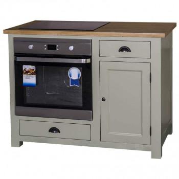 Meuble de cuisine pour Four encastrable et Plaque de cuisson avec placard