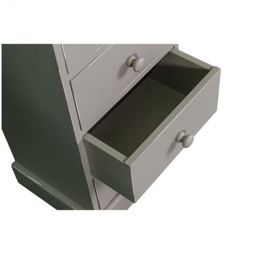 Meuble de rangement Chiffonnier 8 tiroirs ROMANE