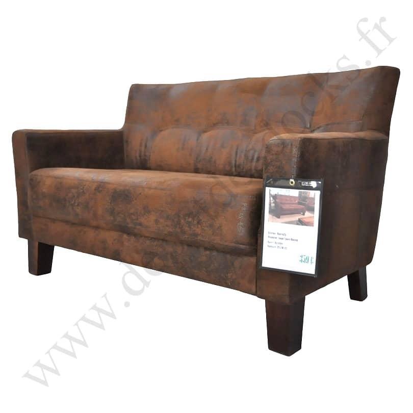 canap vintage montreal 2 places le d p t des docks. Black Bedroom Furniture Sets. Home Design Ideas