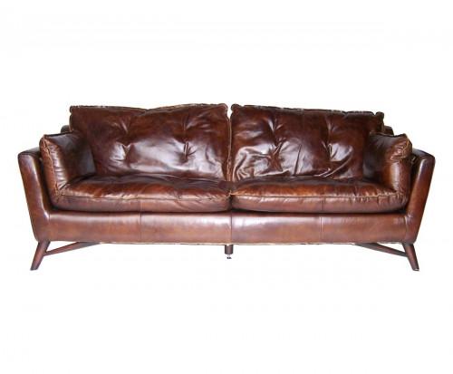 Canapé en cuir «Le Scandi»