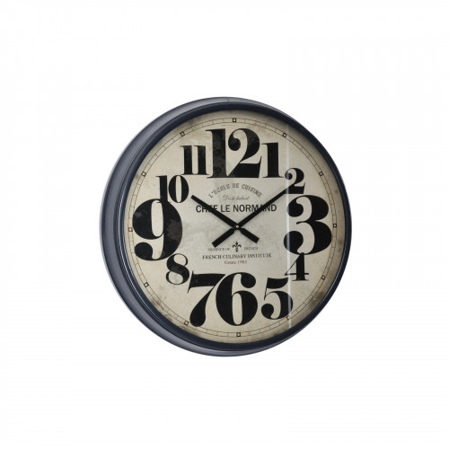 Horloge «Le chef Normand»