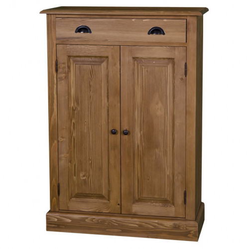Meuble d'appoint 2 portes et 1 tiroir