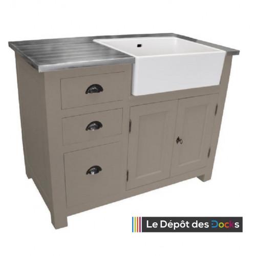 Meuble de cuisine 3 tiroirs et 1 placard vier int gr - Placard sous evier cuisine ...