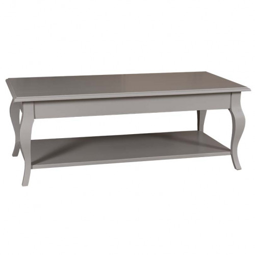 Table de salon en pin massif ROMANE - 120x60x45