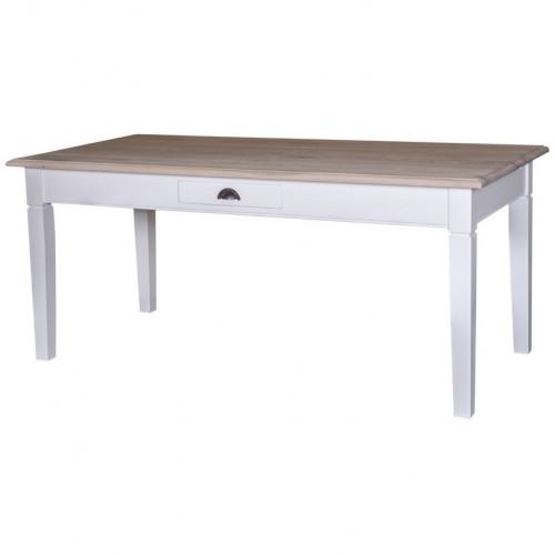 Table à manger avec un tiroir central