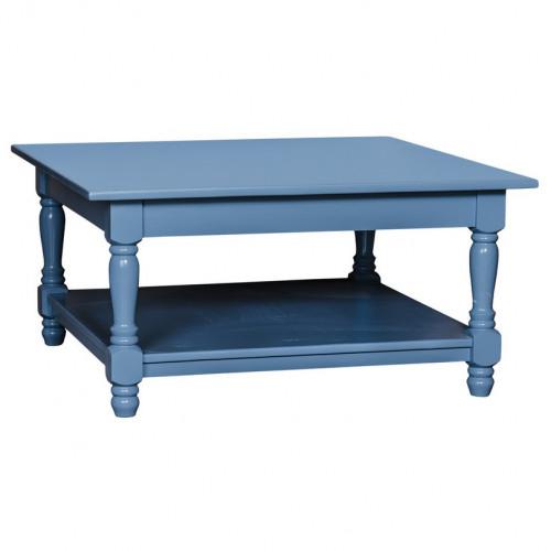 Table basse en pin massif ROMANE - 90x90x45 cm