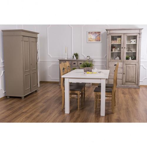 Table à manger personnalisable en bois massif