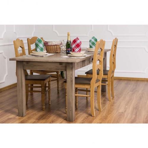 Table de Repas rectangulaire avec 1 tiroir