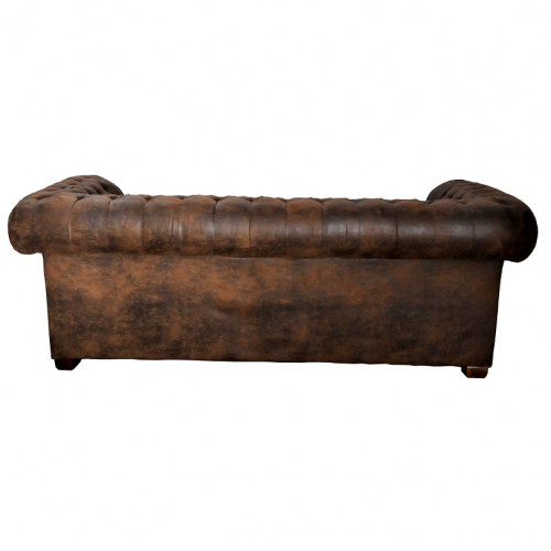 Canapé chesterfield 3 places - 210x88x76 cm