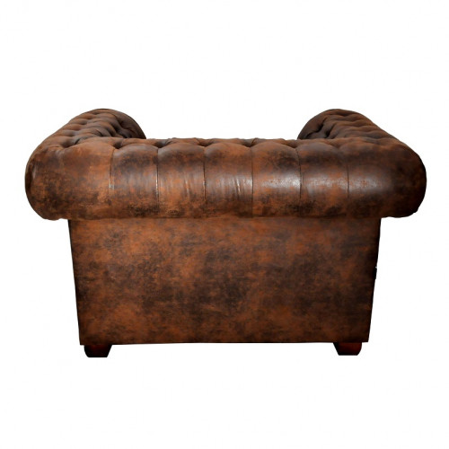 Fauteuil chesterfield - 127x88x76 cm
