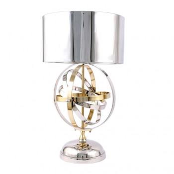 Lampe sphère en aluminium - 70 cm