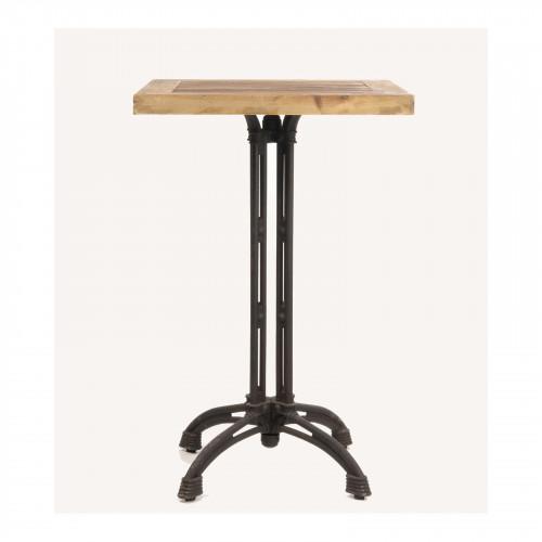 Table Haute de Bar Mange debout vintage industriel - 70x70x108 cm