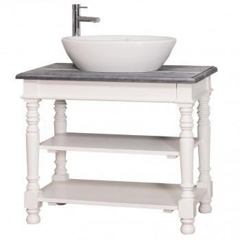 Meuble de salle de bain simple vasque