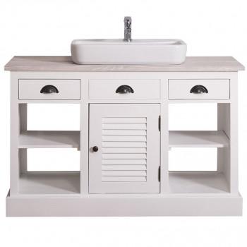 Meuble de salle de bain avec 1 vasque