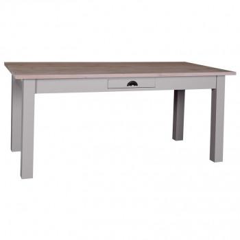 Table de Repas ROMANE en bois massif - 180x90x78