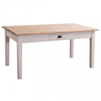 Table à manger ROMANE en bois massif - 180x90x78