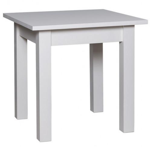 Table à manger carrée ROMANE en bois massif - 90x90x78