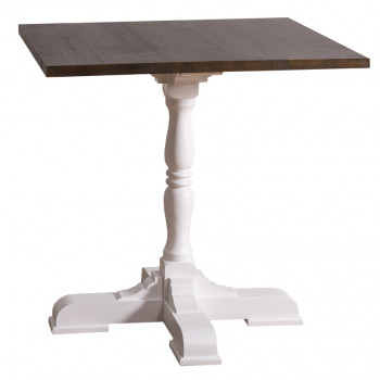Table à manger carré de 80cm - ROMANE