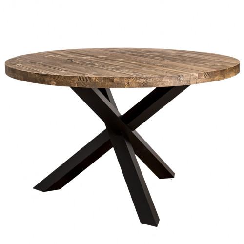 Table ronde à 3 pieds croisés - ROMANE
