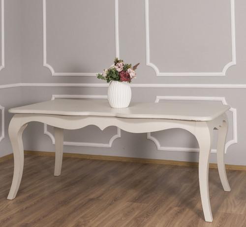 Table de salle à manger ROMANE en bois massif - 180x90x78 cm
