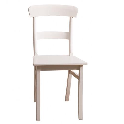 Chaise à dossier courbé et 2 barrettes - ROMANE