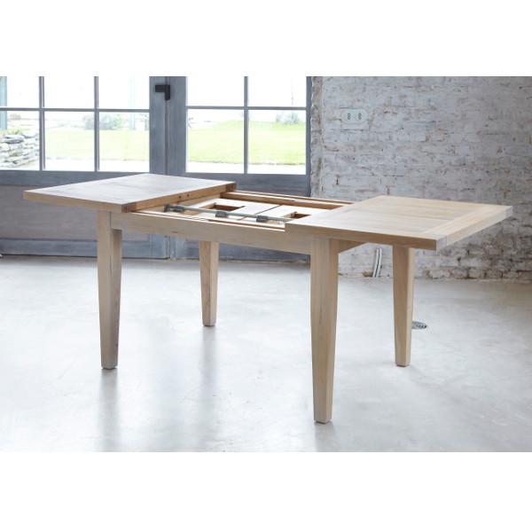 table rectangulaire extensible 200 contemporaine ch ne massif milano le d p t des docks. Black Bedroom Furniture Sets. Home Design Ideas