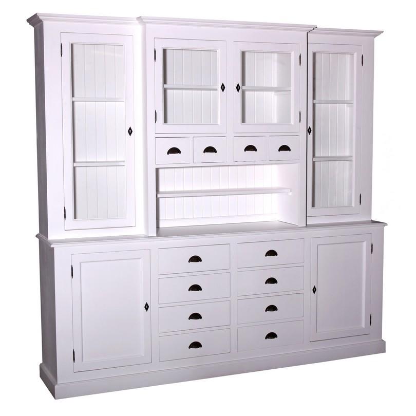 grand buffet vaisselier en bois massif personnalisable le d p t des docks. Black Bedroom Furniture Sets. Home Design Ideas