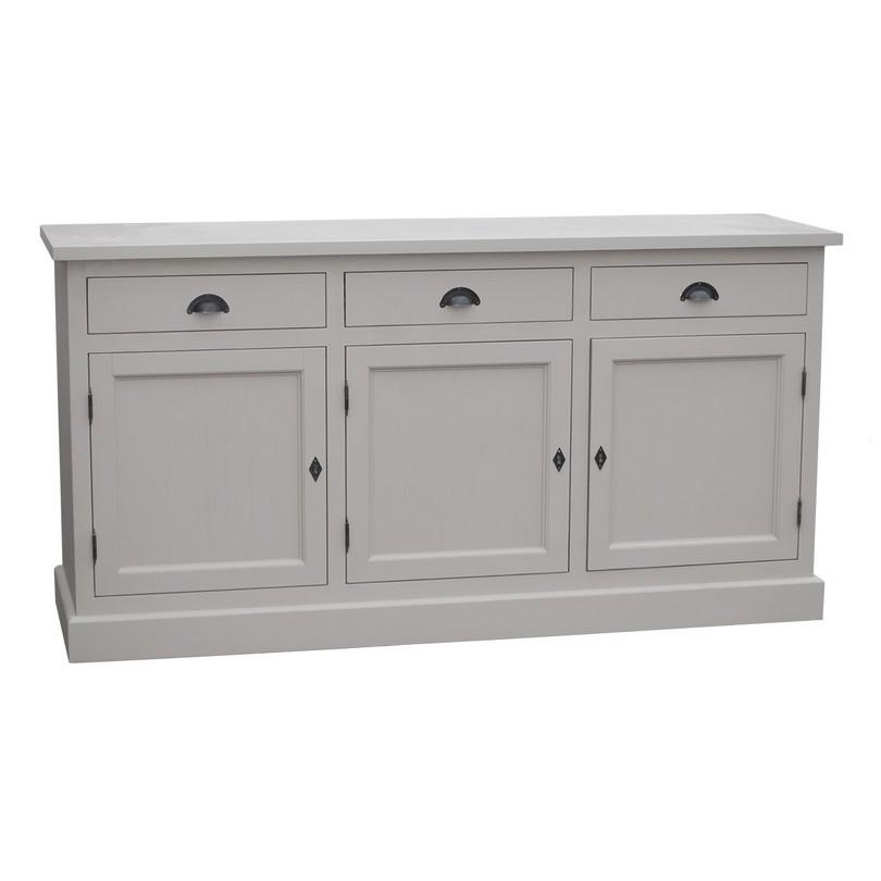 vaisselier 3 portes en pin massif le d p t des docks. Black Bedroom Furniture Sets. Home Design Ideas