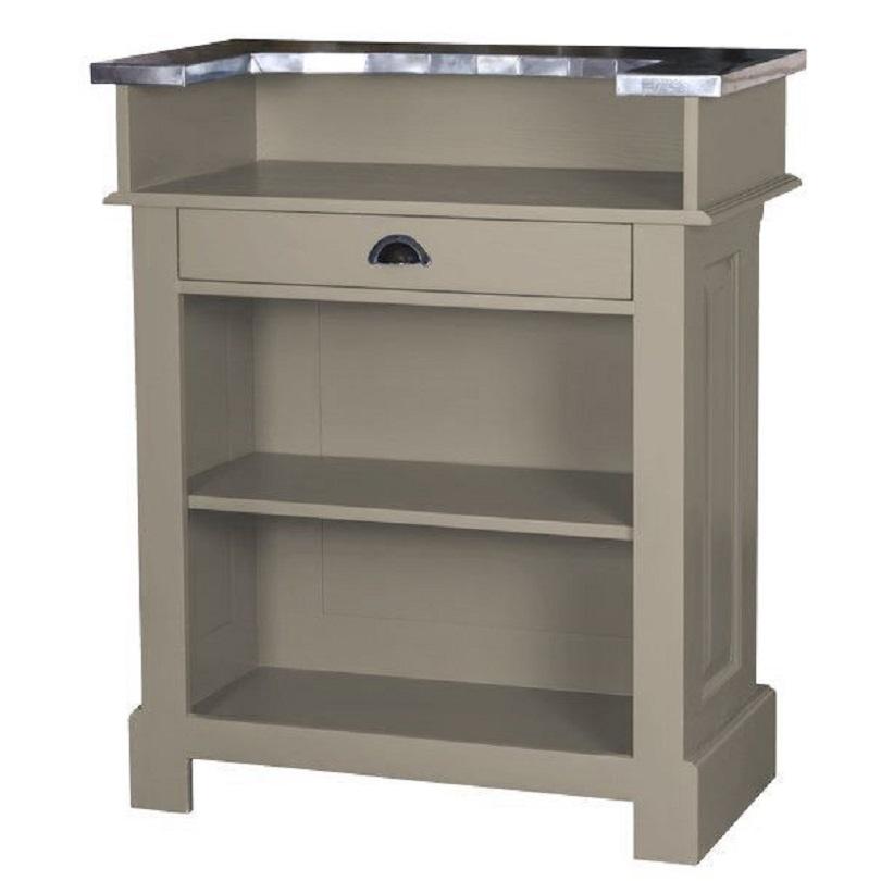 comptoir de bar en zinc interesting comptoir bar zinc comptoir de famille with comptoir de bar. Black Bedroom Furniture Sets. Home Design Ideas