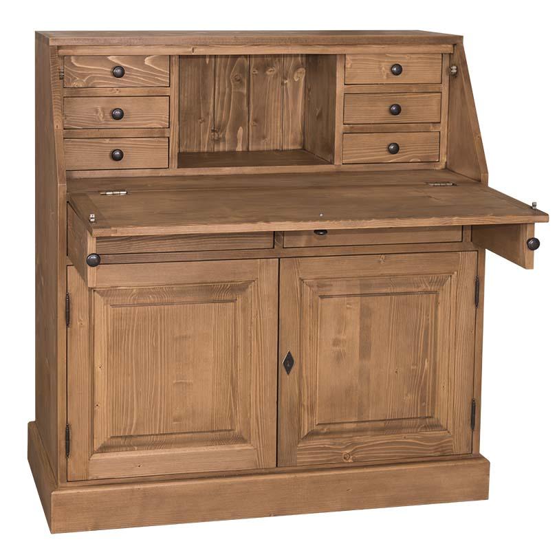 bureau secr taire en bois massif personnalisable le d p t des docks. Black Bedroom Furniture Sets. Home Design Ideas