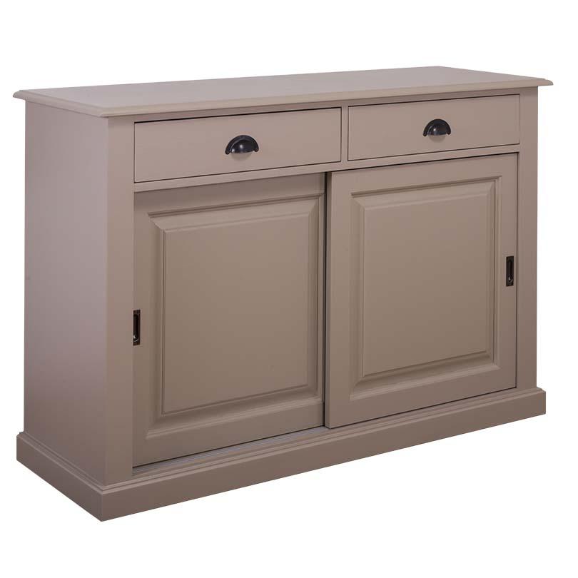 vaisselier en pin massif avec 2 portes coulissantes le d p t des docks. Black Bedroom Furniture Sets. Home Design Ideas